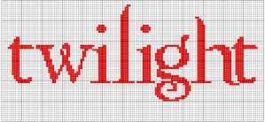 Twilight cross stitch pattern by moonprincessluna