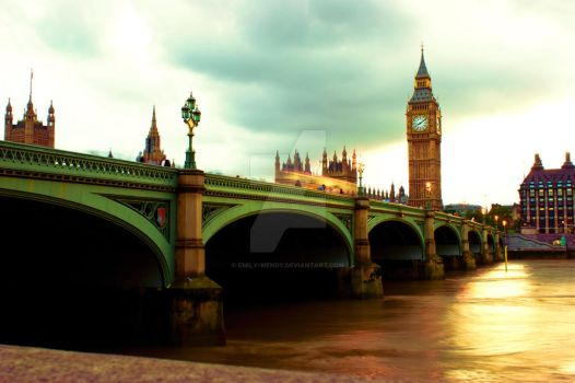 Sunshine in London by Emily-Wendy