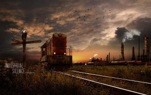 Industrial Silence by PJA-Digital-Art