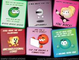 SC813 - Valentines Day Cards 2014 by simpleCOMICS