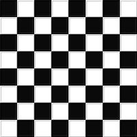 Beveled Checker Board Seamless by FantasyStock