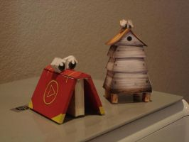 Banjo Kazooie Papercrafts by brentm