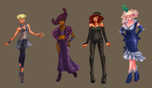 Drag Queen Lineup by Neriah