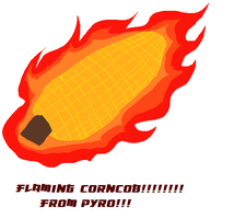 THE FLAMING CORNCOB!!!!!!! by Ask-Pyro-Nix
