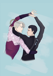 Dance with me - Victuri  by 4TheLoveOfAnimation