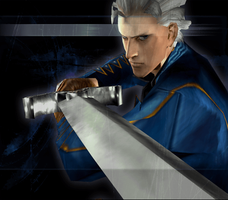 Devil May Cry 3 SE - Force Edge Vergil Clear 4 by Elvin-Jomar
