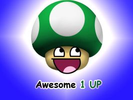 Awesome 1 up wallpaper by Formus