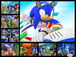 Sonic Free Riders Teams and Rivals by SonicXBoom123