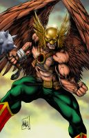 Hawkman Commission Colors by hanzozuken