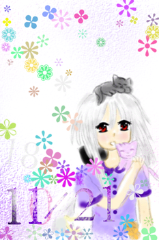 My iPod touch background by RainbowIcePop