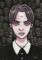 Wednesday Addams by JasonGoad