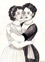 edwardian ladies by emmatleena