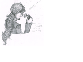 so I vomited some pencil by SpottedFedoras