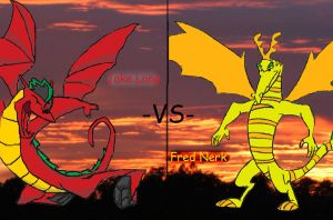 Jake Long -vs- Fred Nerk by Dante3o3