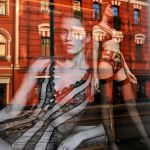 Moscow window display reflections 1 by wildplaces
