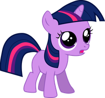 Filly Twilight Sparkle Vector by HALOPONY3