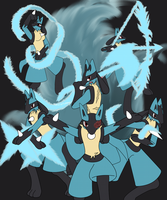 The Blackflame Six by XD-385