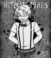 Hitman Jones (for iAlly) by NanaFay