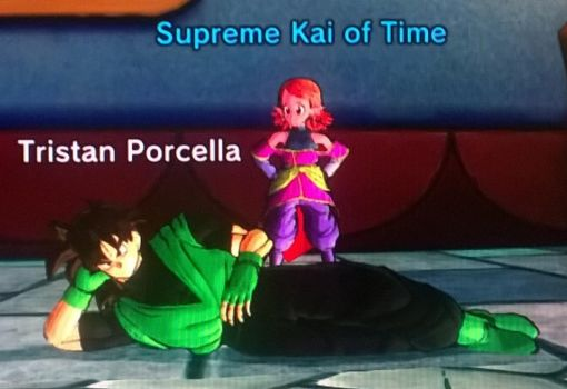 Me And The Supreme Kai Of Time by tristananimation