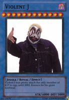 Violent J Yu-Gi-Oh Card by KTownKannibal