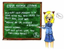 First french lesson by Japanfanzz