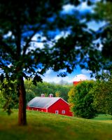 Red Barn by inflaymes