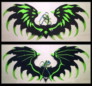 Cthulhu Wings by CraftyWingy