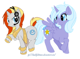 PC1: Digi Wire and Starbright by DraconemIgnis