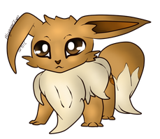 Updated Top: Eevee by AbyssinChaos