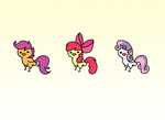 My Little Pony Chickens 3 by hotcoco7946