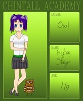 Chintall Academy App: Meghan Staiger by ShugoGurl