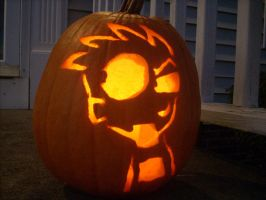 Johnny the Homicidal Pumpkin by Hidden-in-the-Mist