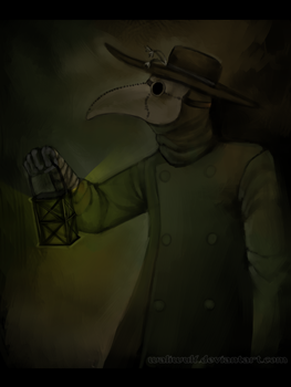 Plague doctor by Walerinaa