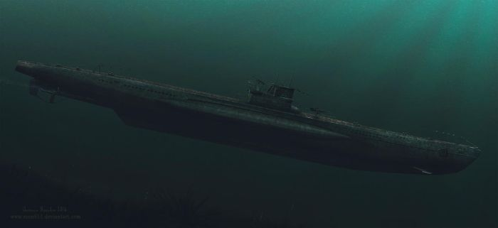 German Type VII U-Boat by rOEN911
