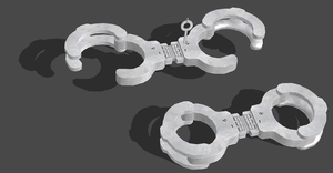 RESIDENT EVIL 6 HANDCUFFS by OoFiLoO