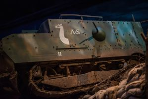 World War 1 Tank by PLutonius