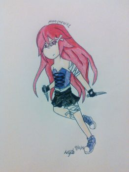 Don't Mess with this Red Head by HiroIsSweg