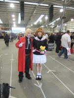 Supanova 2013 - Edward Elric and Sakura Kinomoto 2 by fulldancer-alchemist