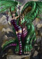 Dragon colored by LordMiste