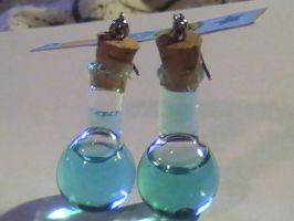 Mana Potion Earrings - New by YourRain