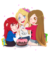 HAPPY BIRTHDAY POLINA by Isaddesu