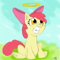 Cutie Mark of innocense by Quirky-Middle-Child