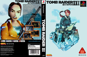 Tomb Raider III PSX re-issue by RenOfSwagzareth