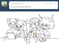 Ask Drunk Tavros Re1 by Hoshi-Sama20