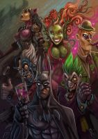 Rogues Gallery by MightyMoose