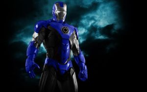 Blue lantern iron by countfrightriderd