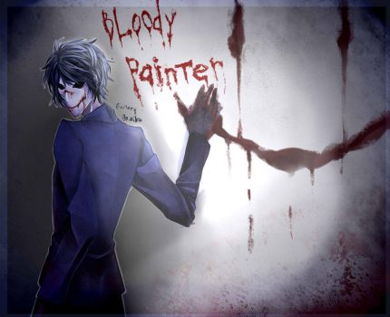 Bloody Painter  by 123Shei-chan321
