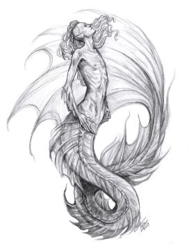 Deep Sea Merman by Muirin007