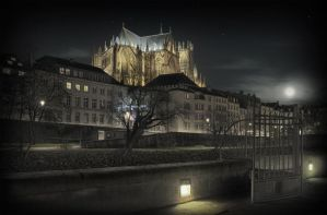 St Etienne Cathedral - METZ by Marcusion
