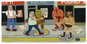 Street Fight by Teagle